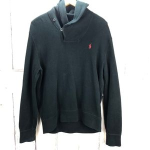 Polo by Ralph Lauren Side Button Collar Sweater